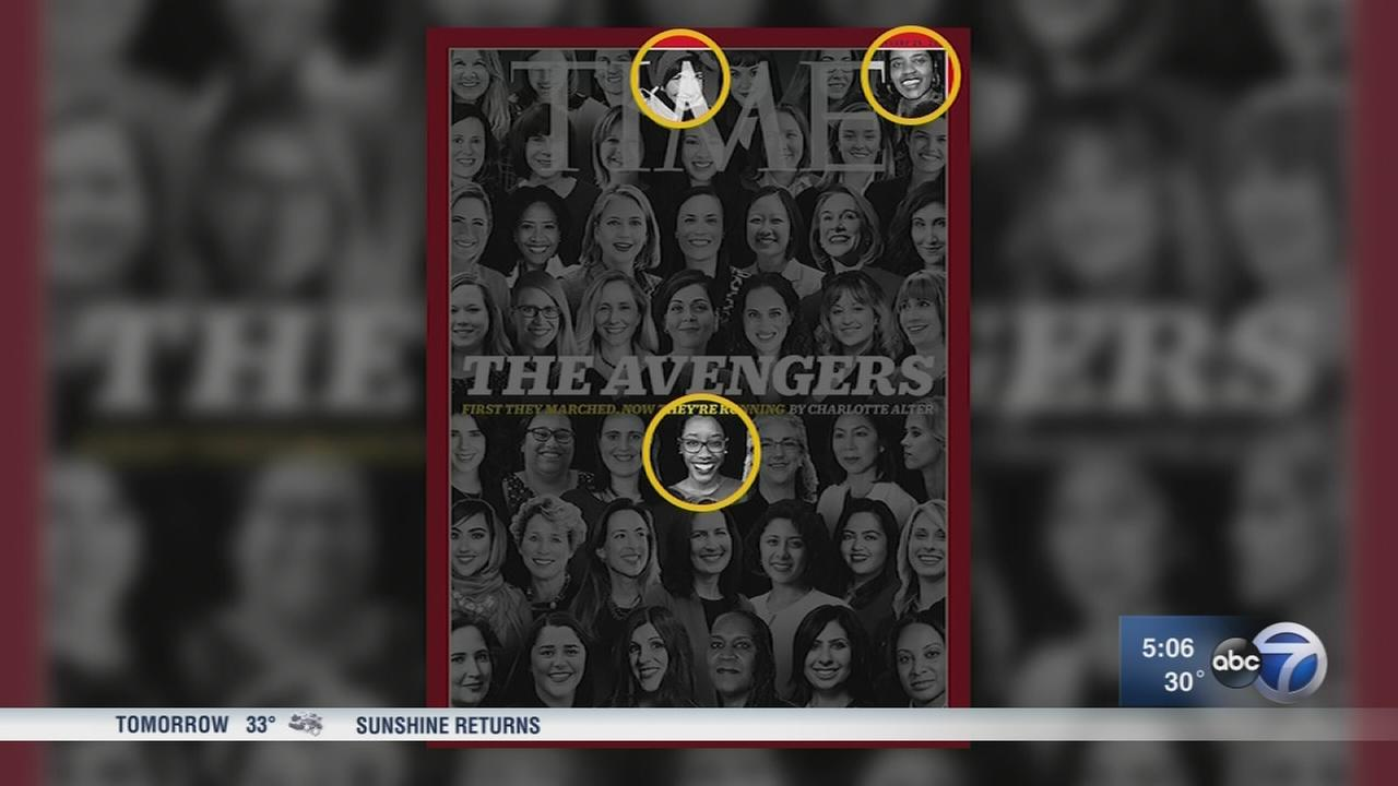 Naperville women running for office featured on cover of Time Magazine