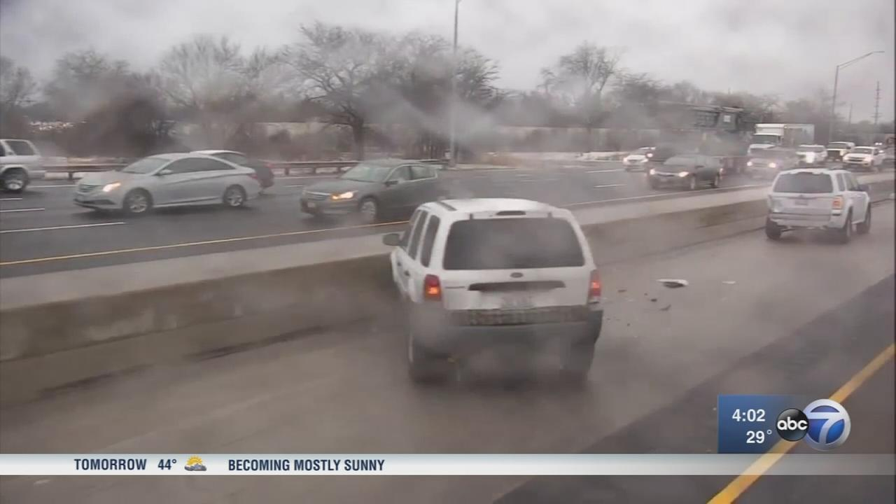 Hundreds of crashes reported due to icy conditions