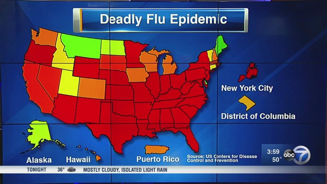 CDC: 37 children dead, flu virus still spreading