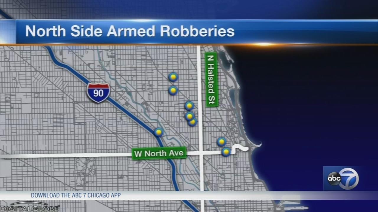 Man robbed at gunpoint in Old Town, part of string of muggings