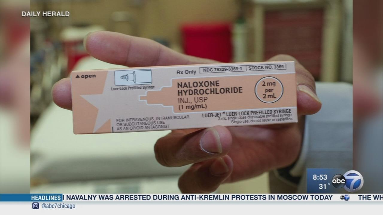Opioid overdose reversal drug naloxone