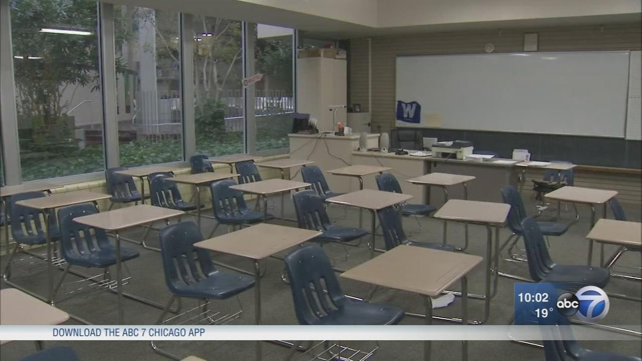 Nearly 100 students out with flu at Saint Patrick High School