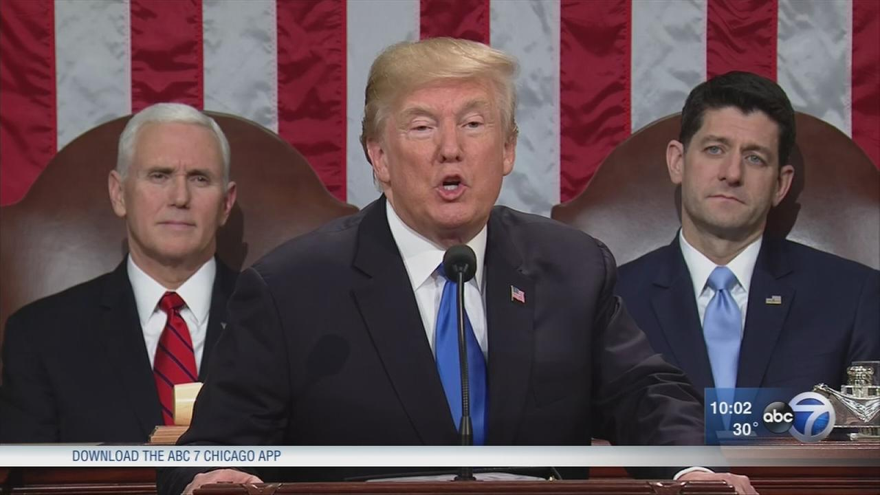 State of the Union 2018: Donald Trump calls for new American moment