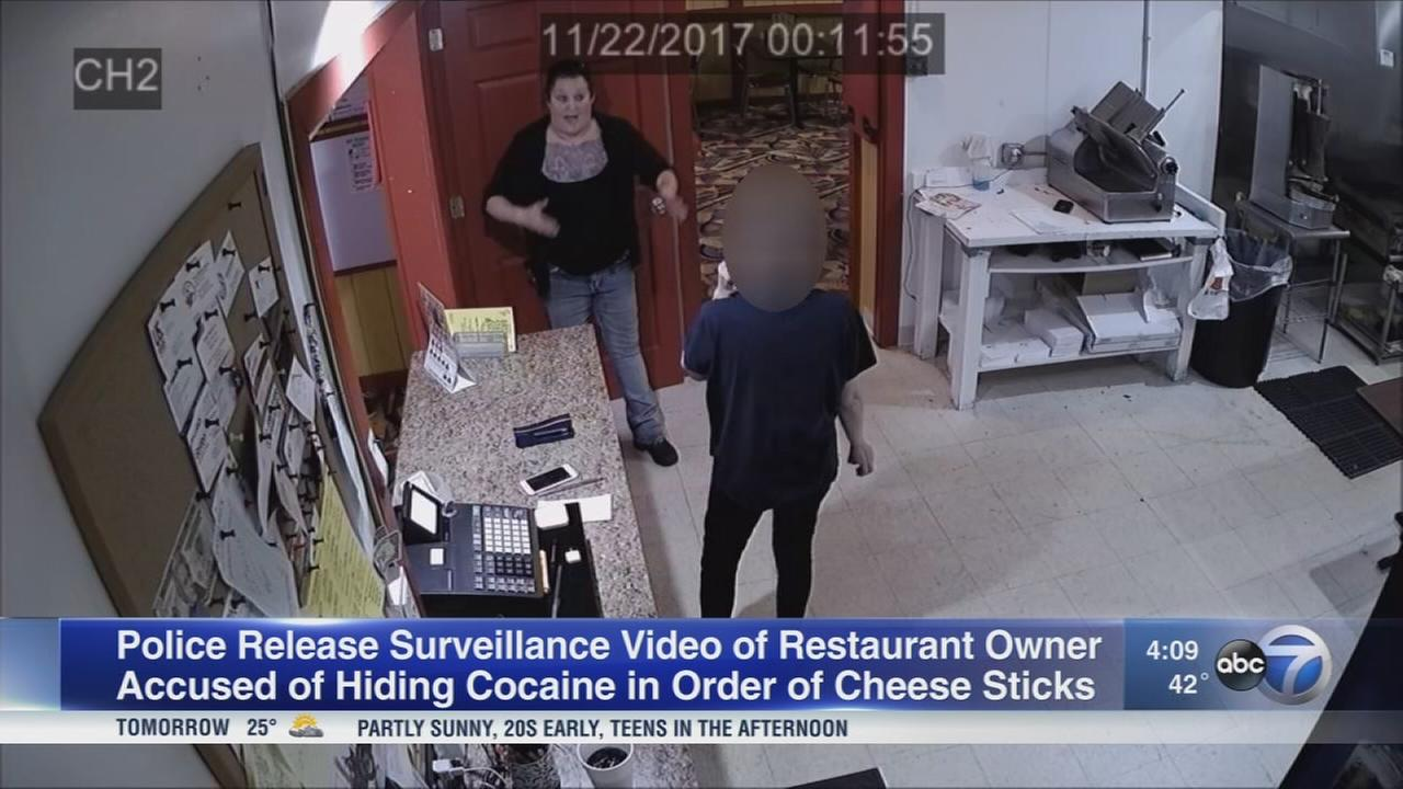 Indiana restaurant owner charged after cocaine found in cheese sticks order