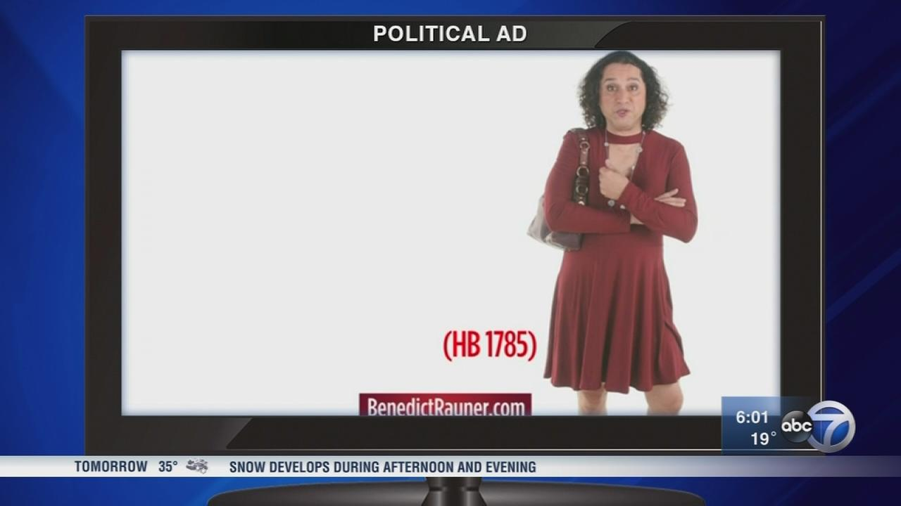 Jeanne Ives Thank You ad stirs controversy