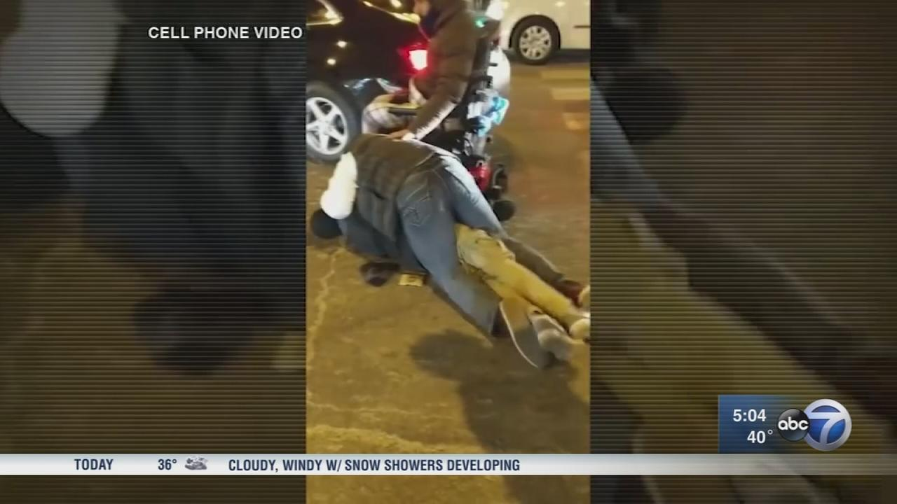 3 arrested in thwarted Streeterville carjacking