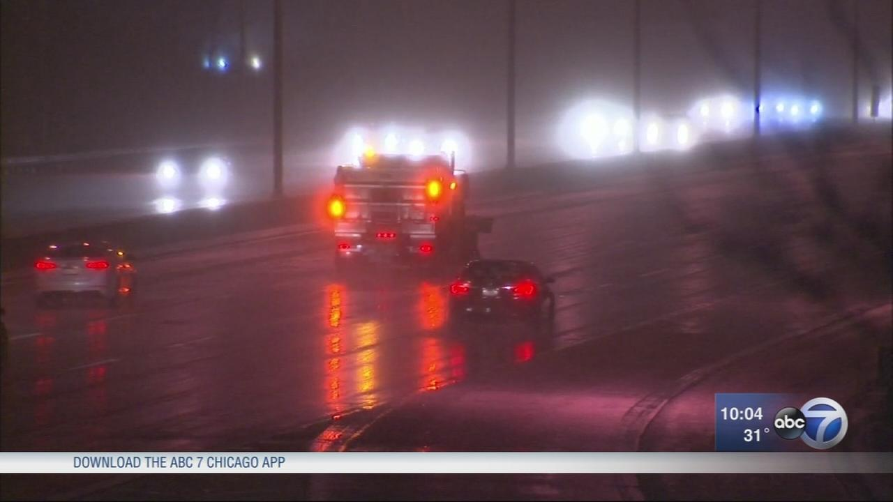 Chicago Weather: Up to 5 in. of snow expected this weekend in some spots