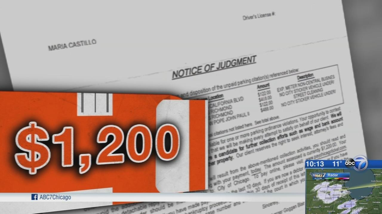 Residents say city demanded payment for old, bogus parking tickets