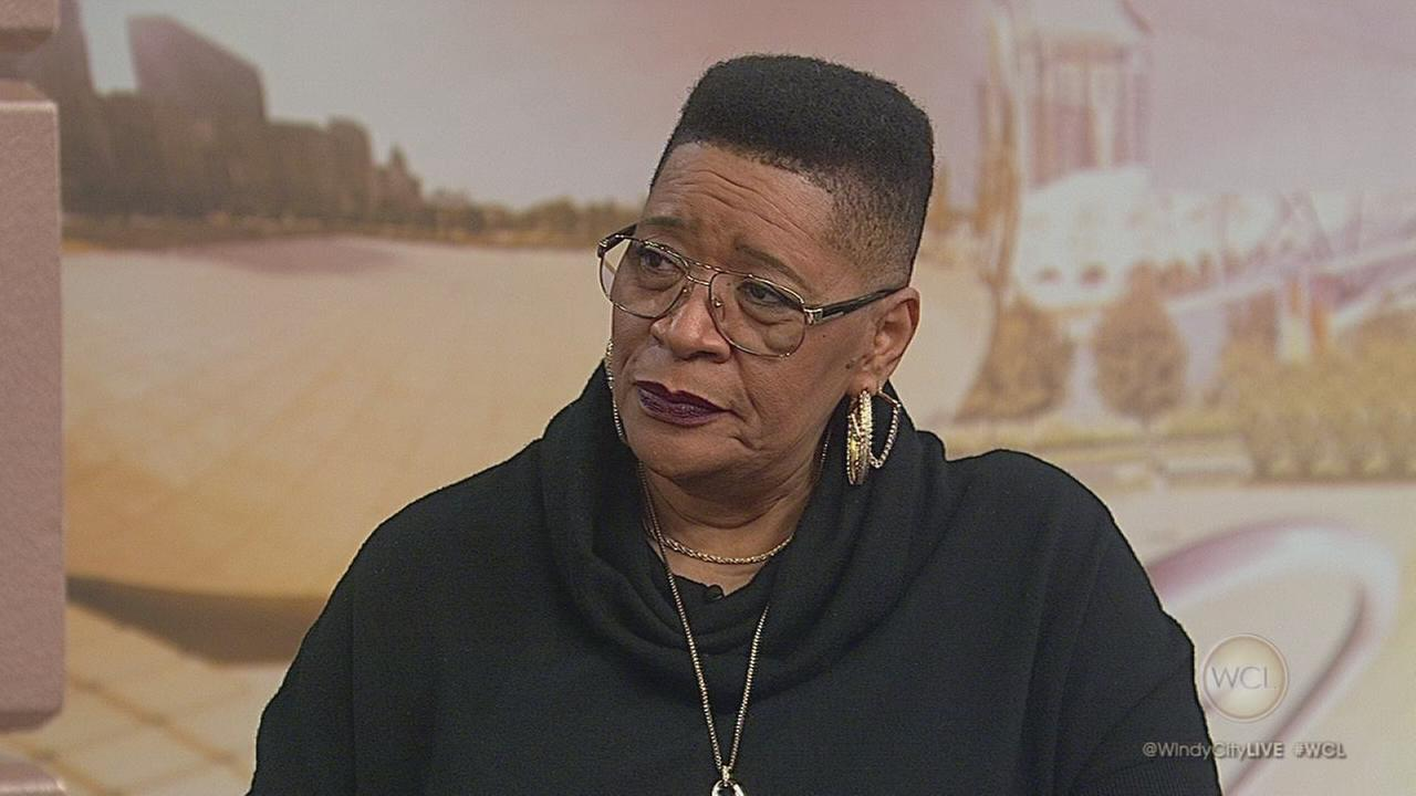 Actress and comedian Marsha Warfield visits WCL