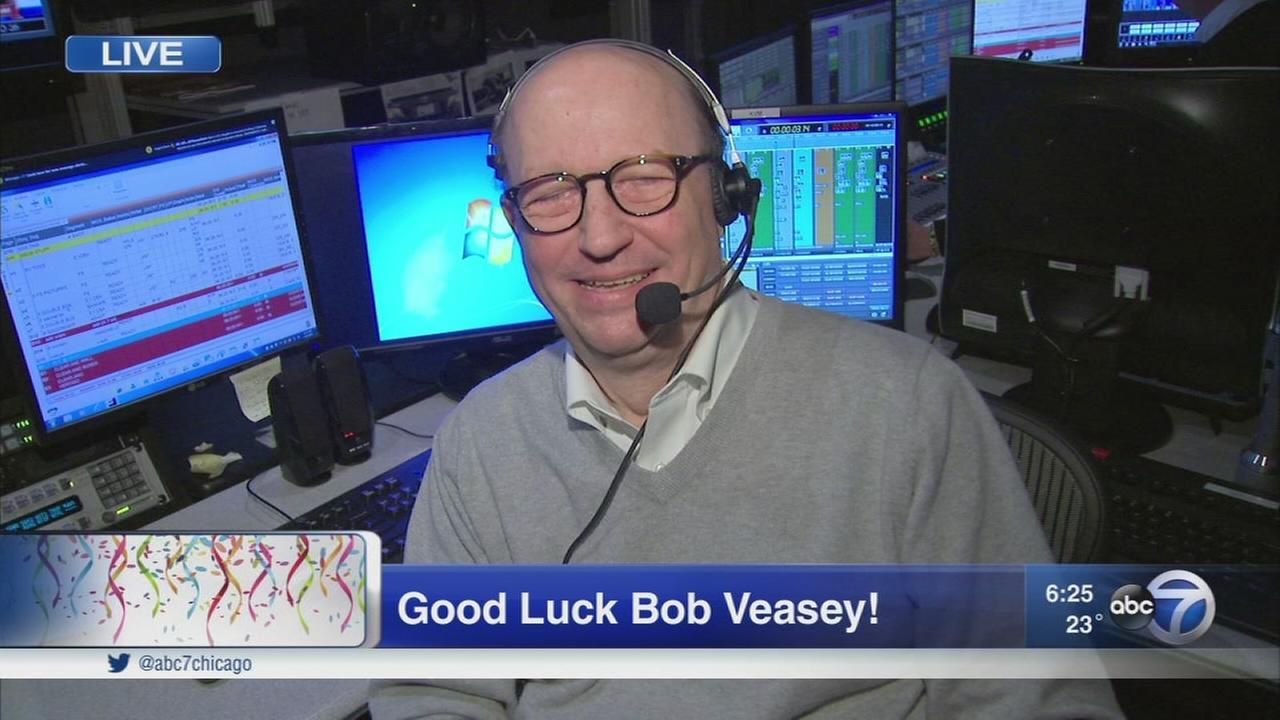 Good luck Bob Veasey!