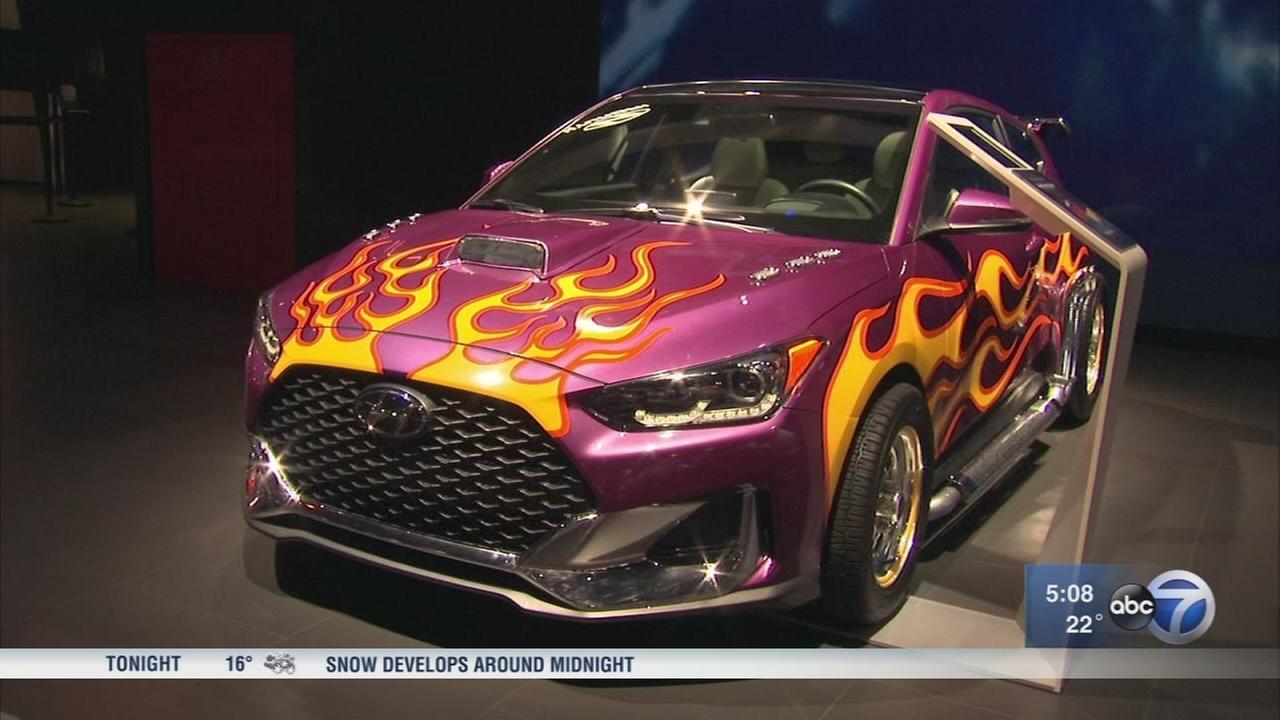 Chicago Auto Show: Doors opened Saturday