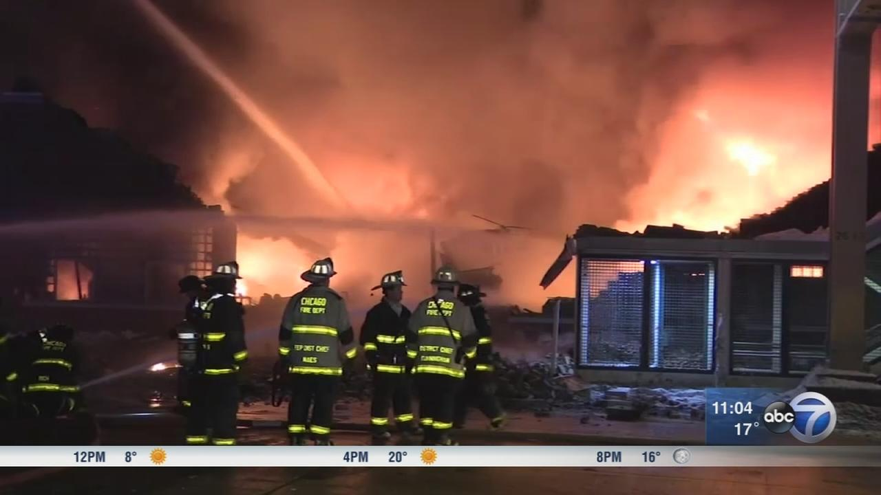 West Side building collapses after fire