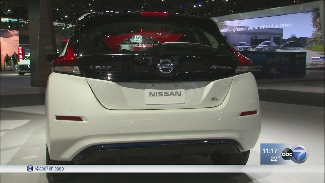 Chicago Auto Show visitors can now test drive an all-electric vehicle