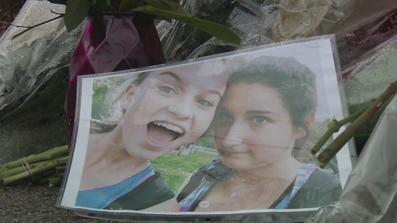 ?Best friends? die after being hit by car outside high school