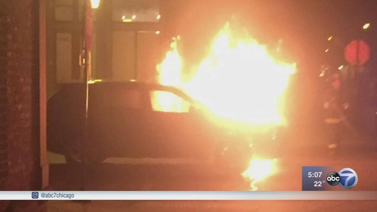 Mysterious auto fire leaves owner questioning cause