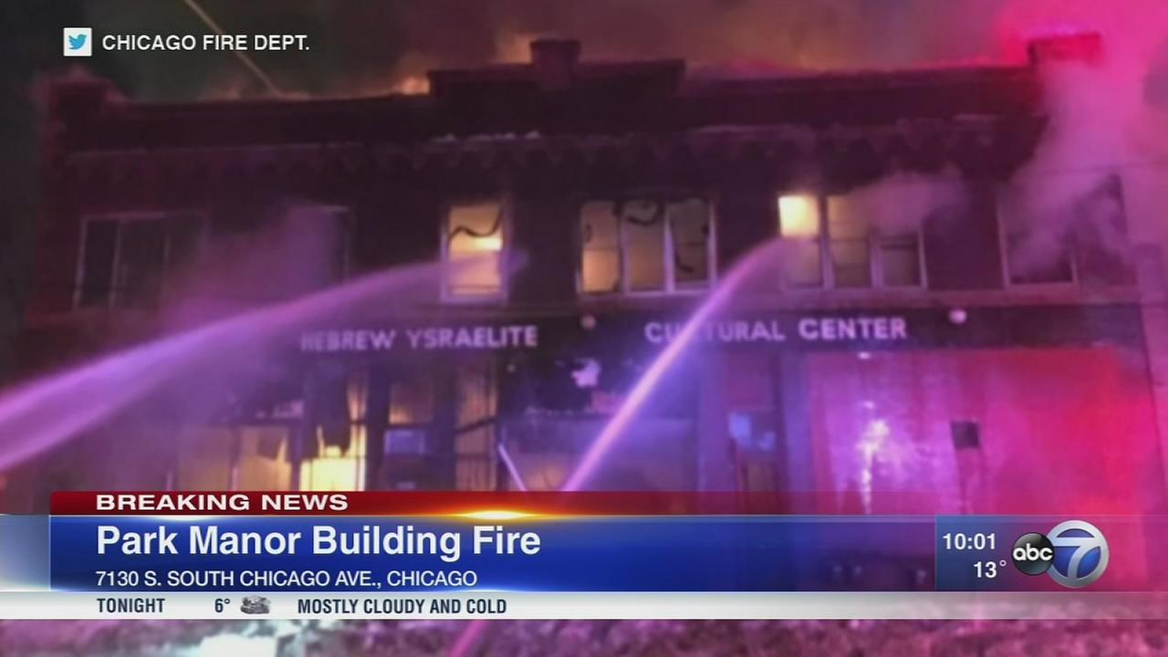 Disabled woman rescued from Park Manor fire