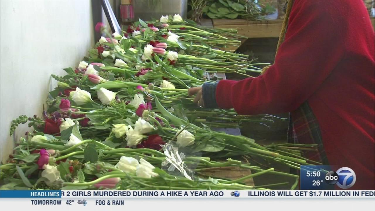 Chicago shop delivering flowers with a side of charity