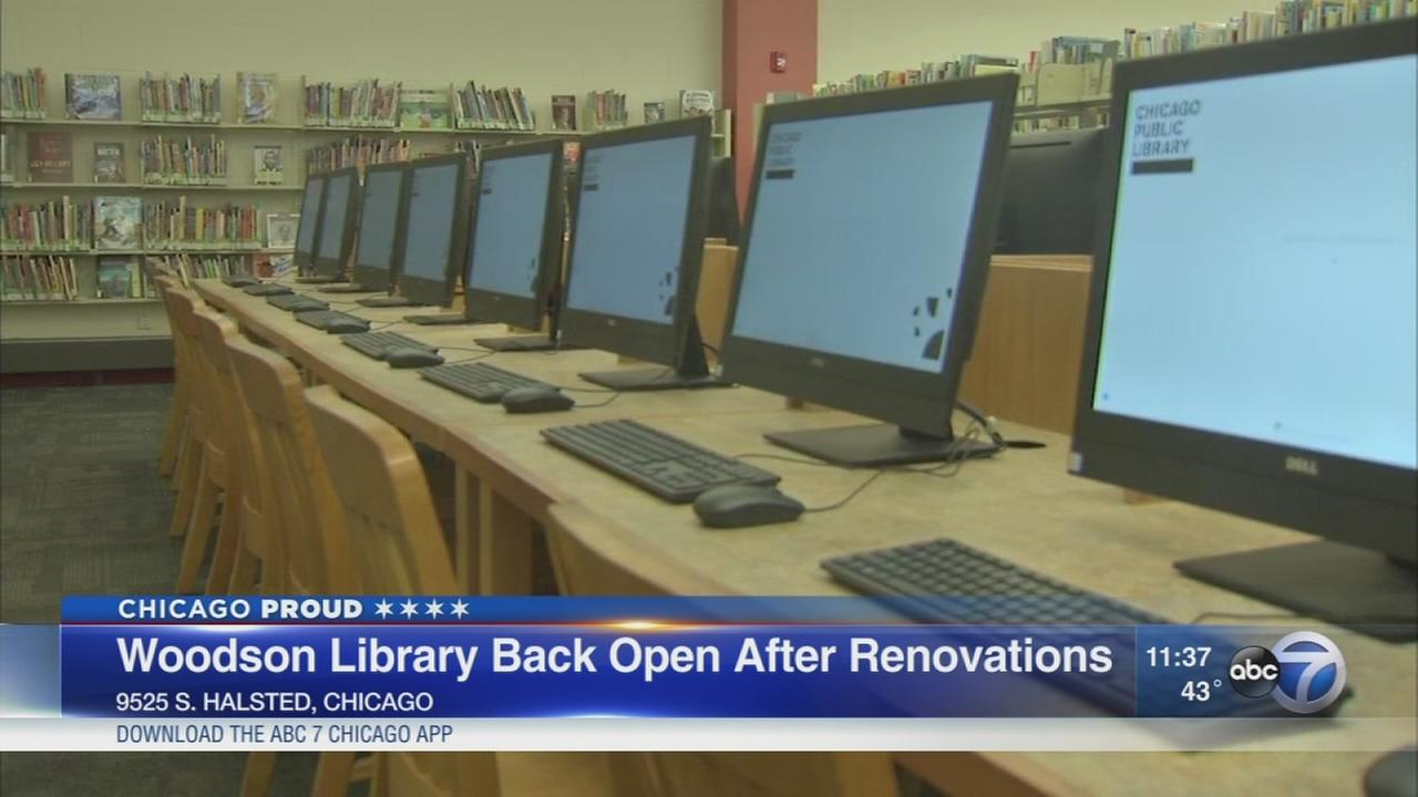 Woodson Library reopens after renovations