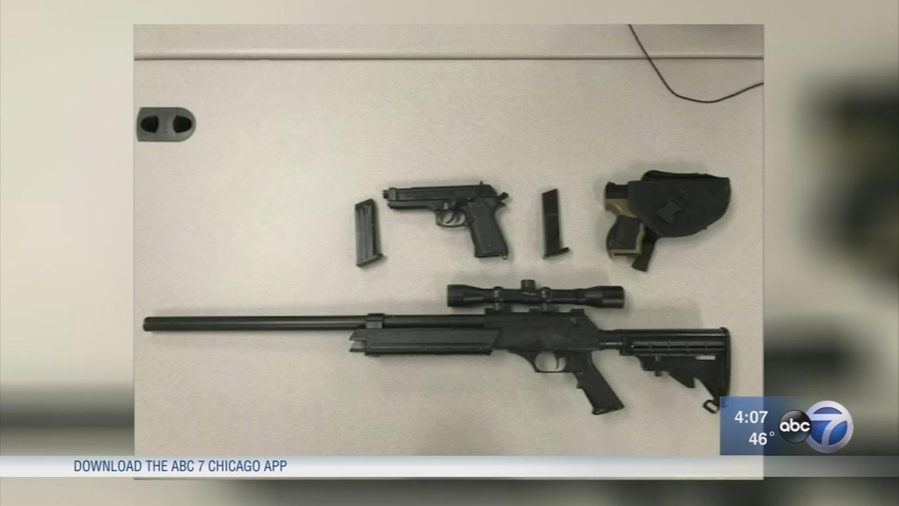 2 men found with Airsoft guns in Portage Ind., soft lockdown lifted at schools