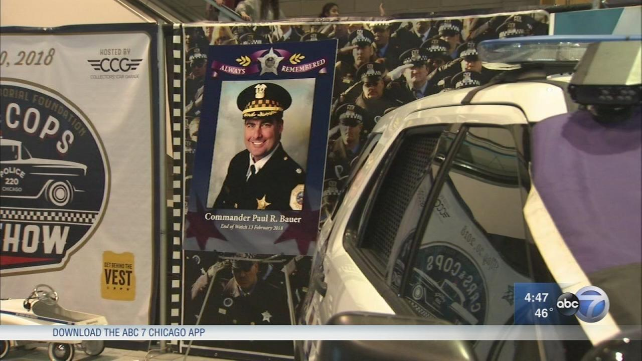Chicago Auto Show police booth becomes memorial to Cmdr. Paul Buaer