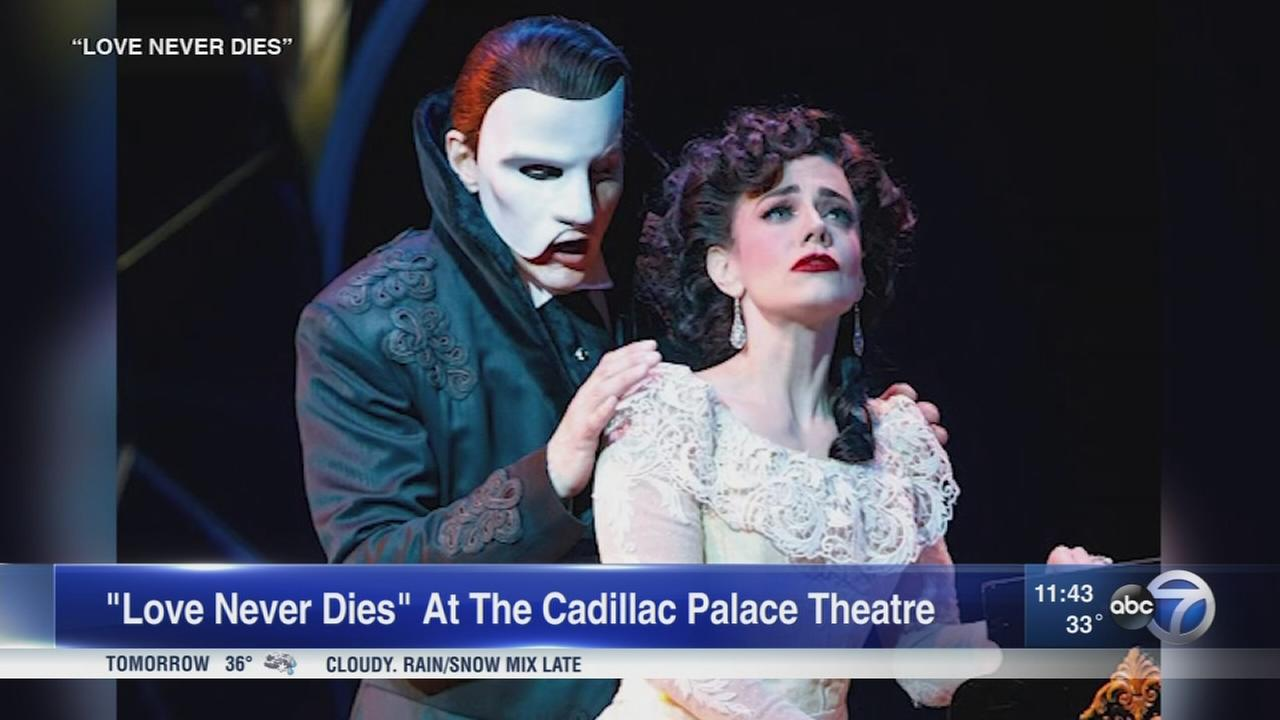 Chicago native stars in Phantom of the Opera sequel