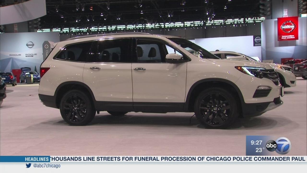 Chicago Auto Show ends on Monday