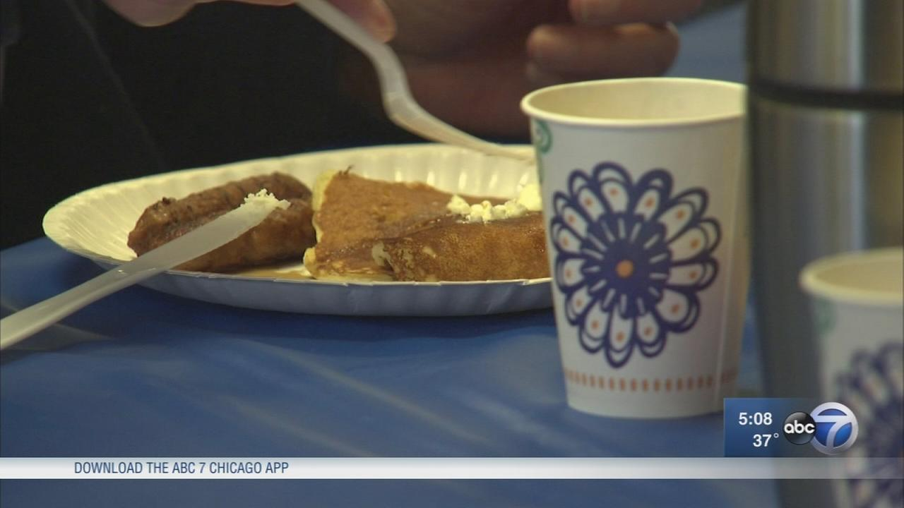 Pancake breakfast invites community to get behind the vest