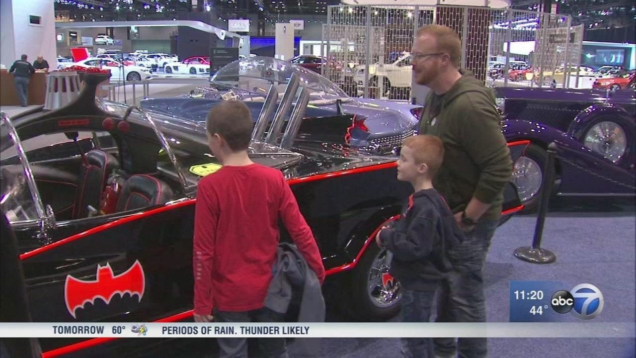 Family Day at the Chicago Auto Show