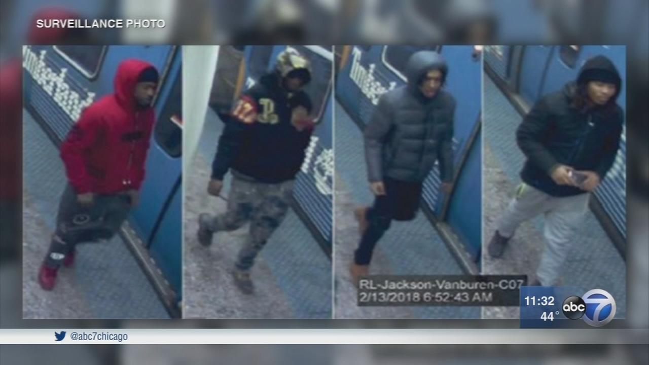 Police: Suspects surround, rob victims in CTA tunnels