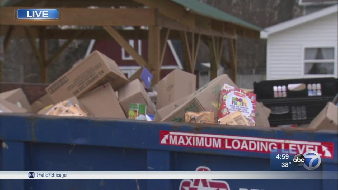 Valparaiso food pantry in need after flood wipes out half of food supplies