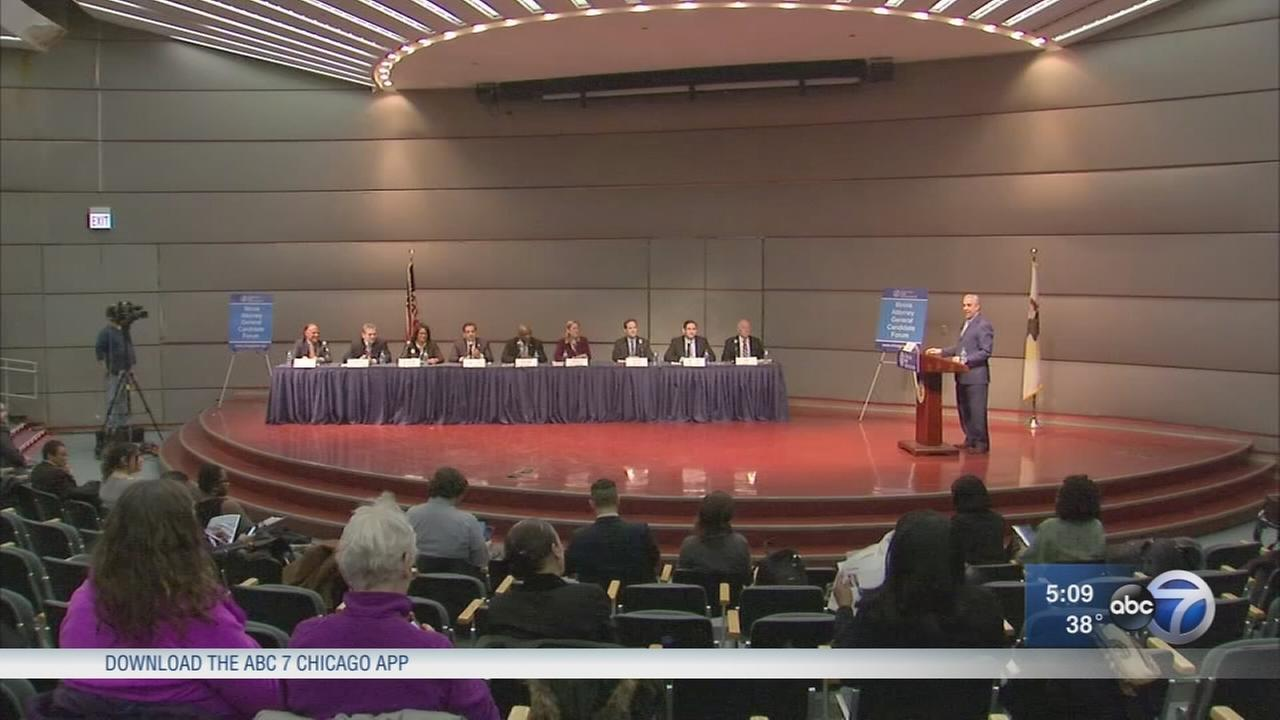 9 candidates for attorney general debate Thursday