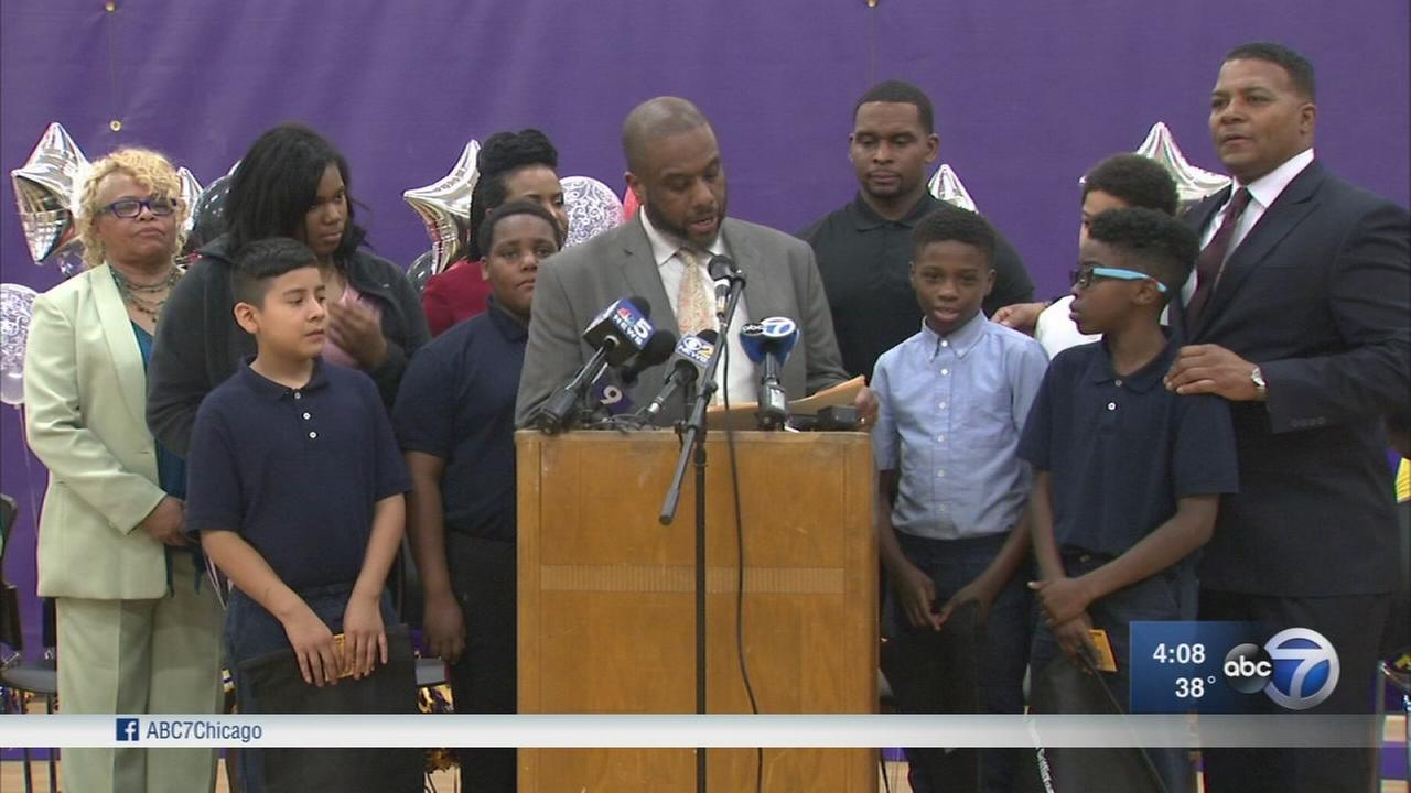 Dixmoor students honored for alerting teacher to loaded gun outside school