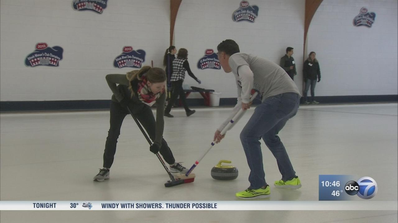 Curling clubs slides along in Northbrook with focus on fun