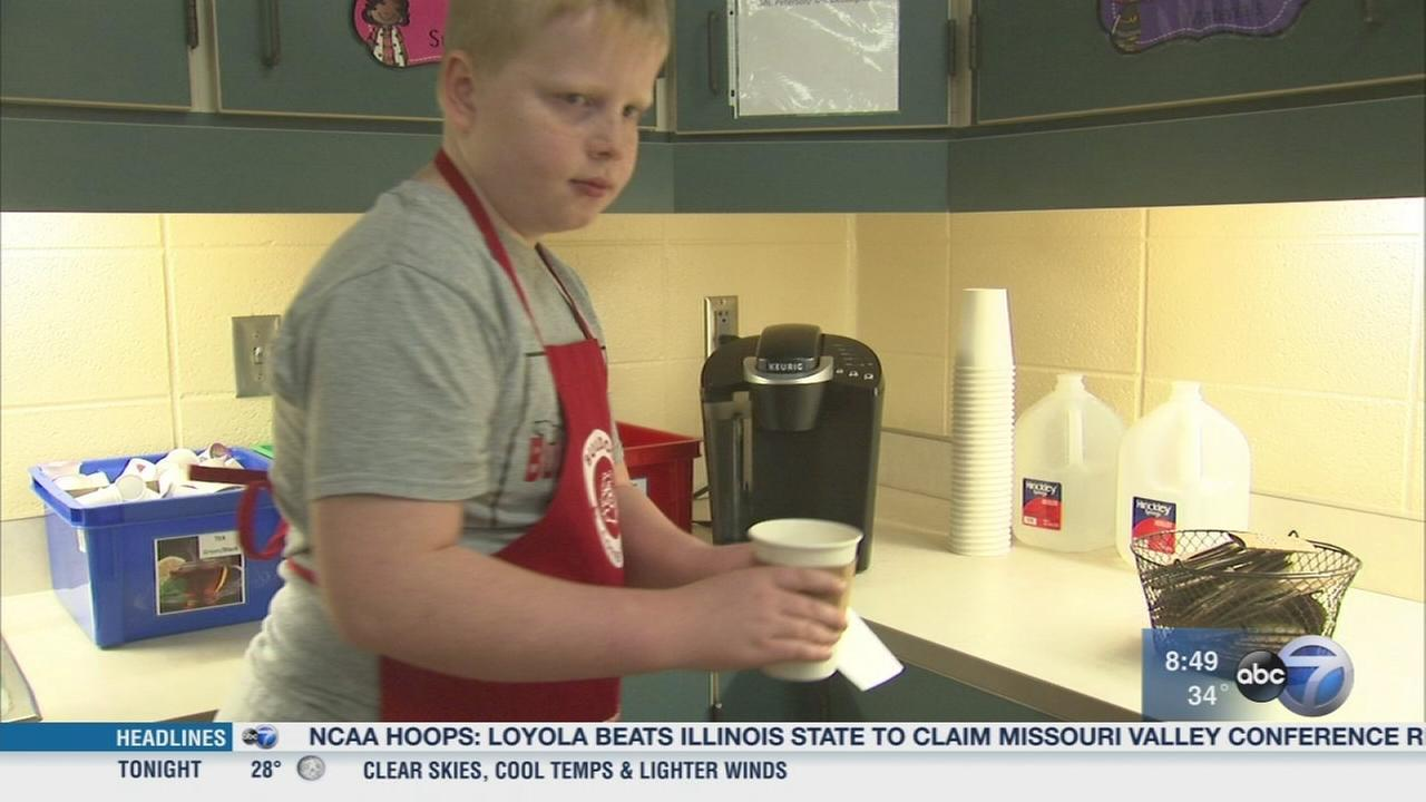 Coffee Cart Friday? program teaches life lessons to Crown Point students