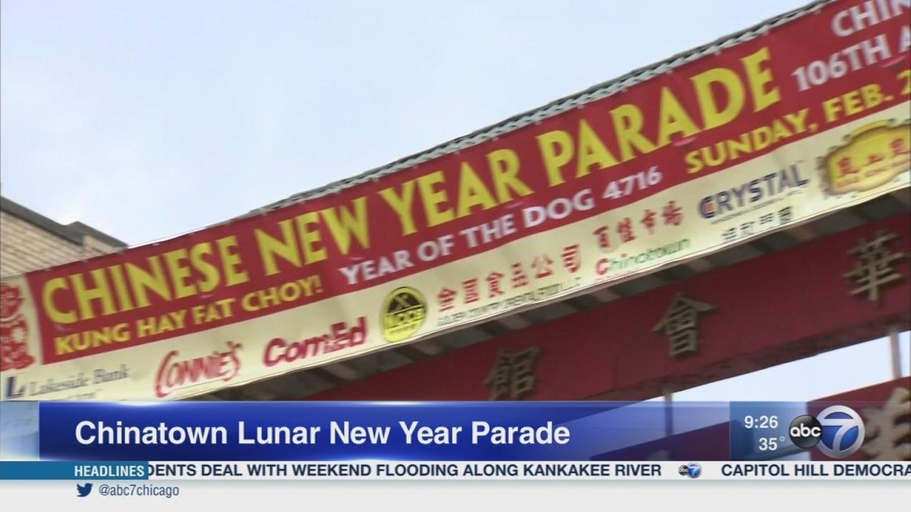 Chinatown parade celebrates Lunar New Year