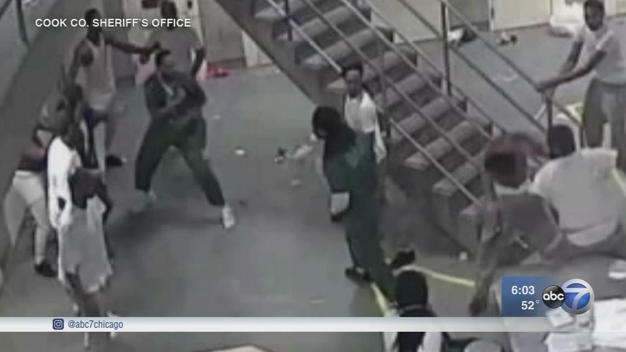 New charges against 16 inmates in county jail fracas