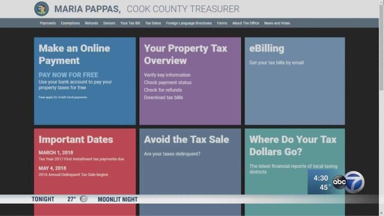 Computer glitch causes Cook Co. property tax payment issue