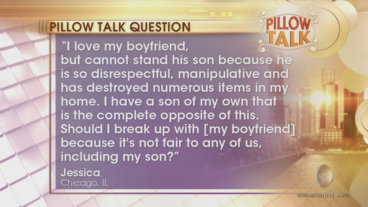 Pillow Talk: My boyfriend?s son