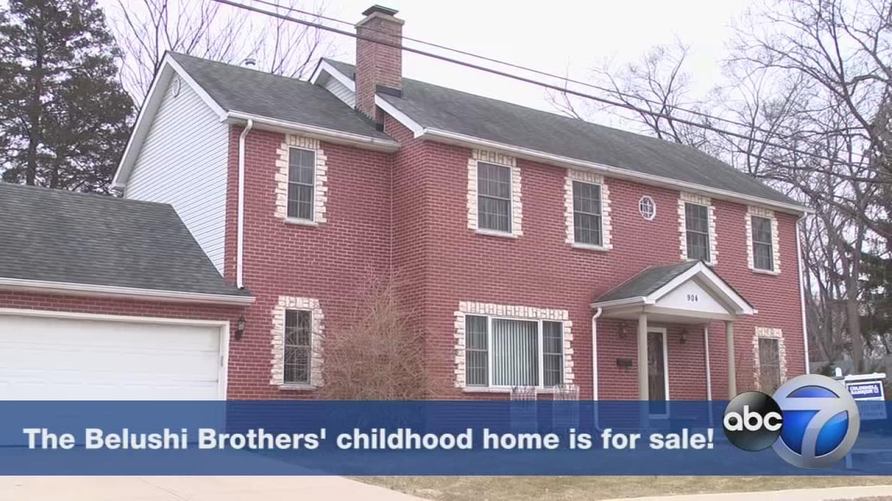 Belushi Brothers childhood home for sale