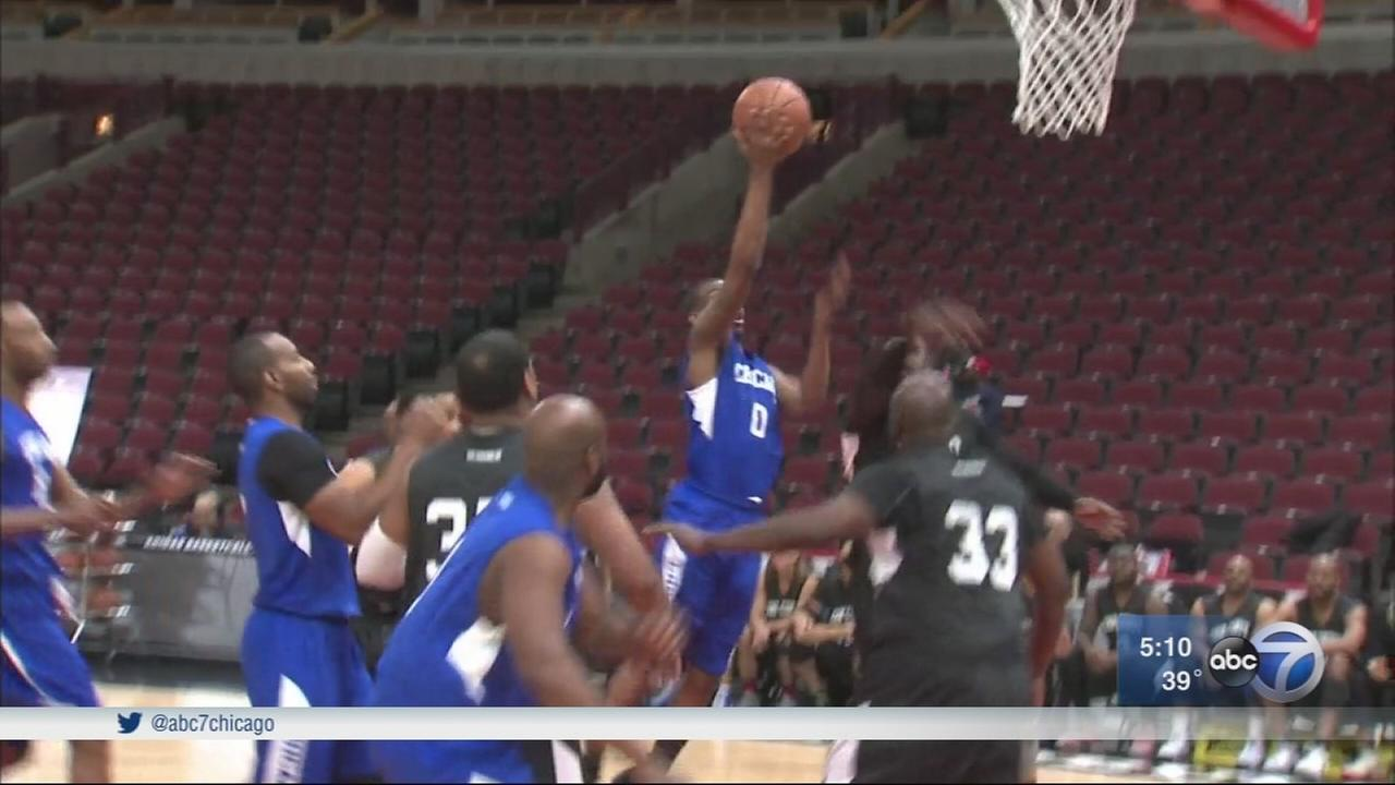 Charity basketball game at United Center benefits police families