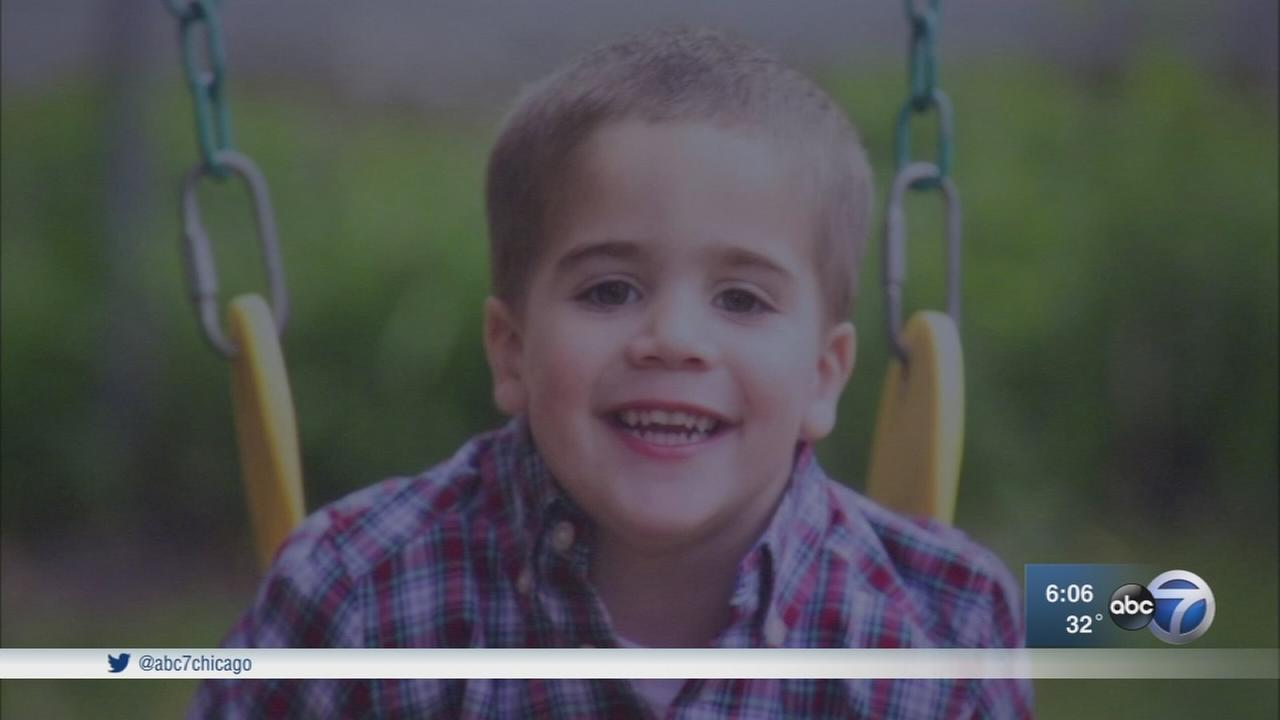 Mt. Greenwood boy who died of cancer remembered with street sign, foundation