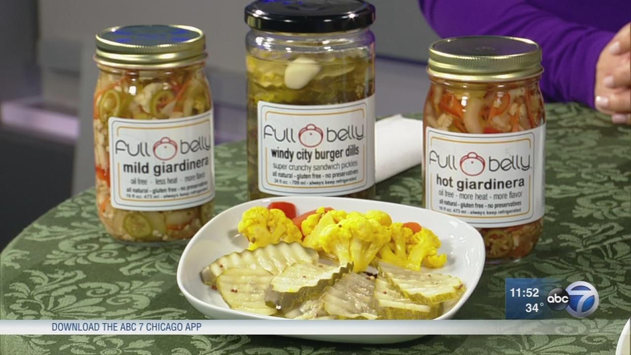 Locally-made pickles packed with unique flavors
