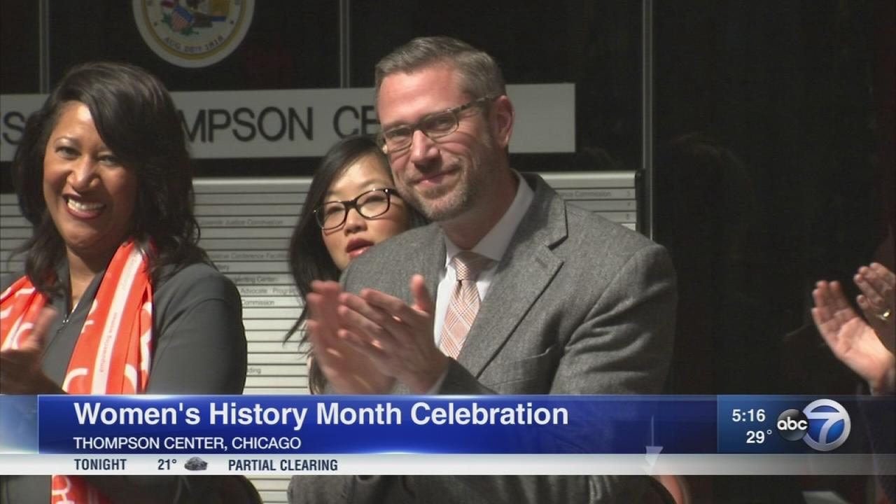 Illinois Treasurer?s office hosts Women?s History Month event