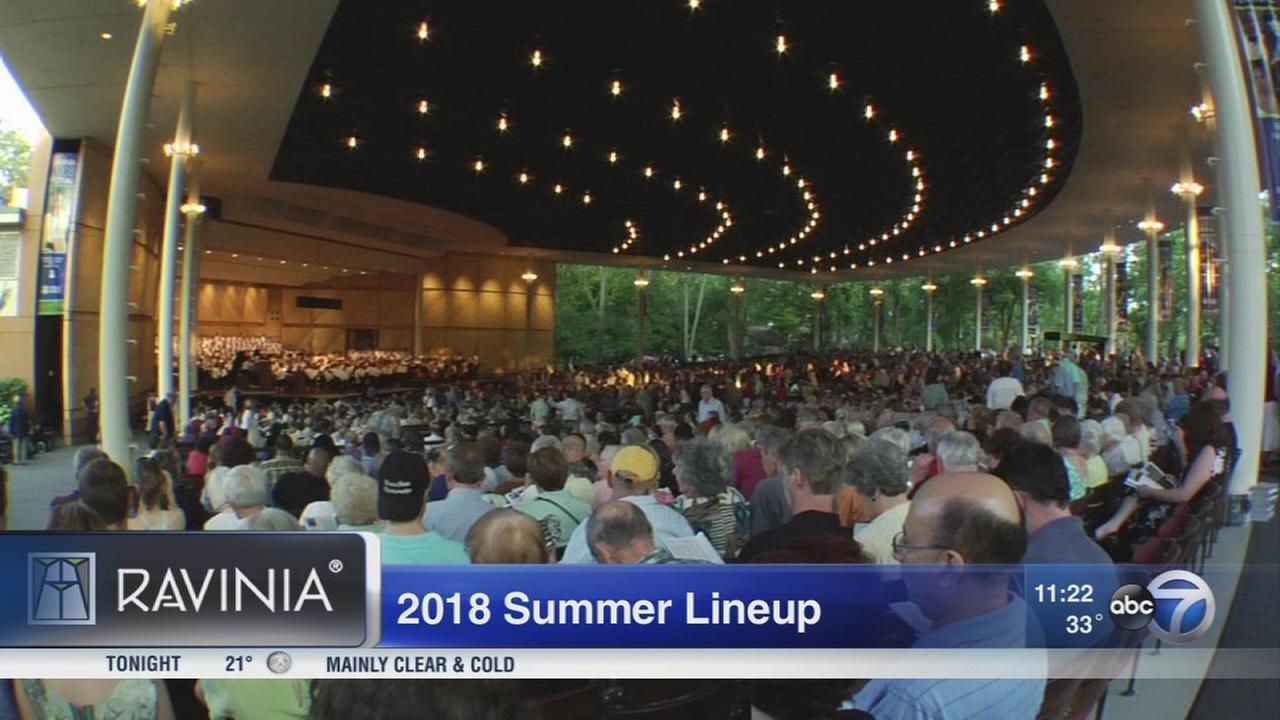 Ravinia summer lineup