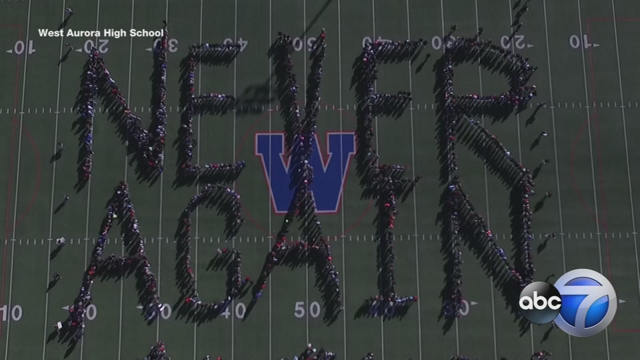 West Aurora Students Vow Never Again Honor Parkland