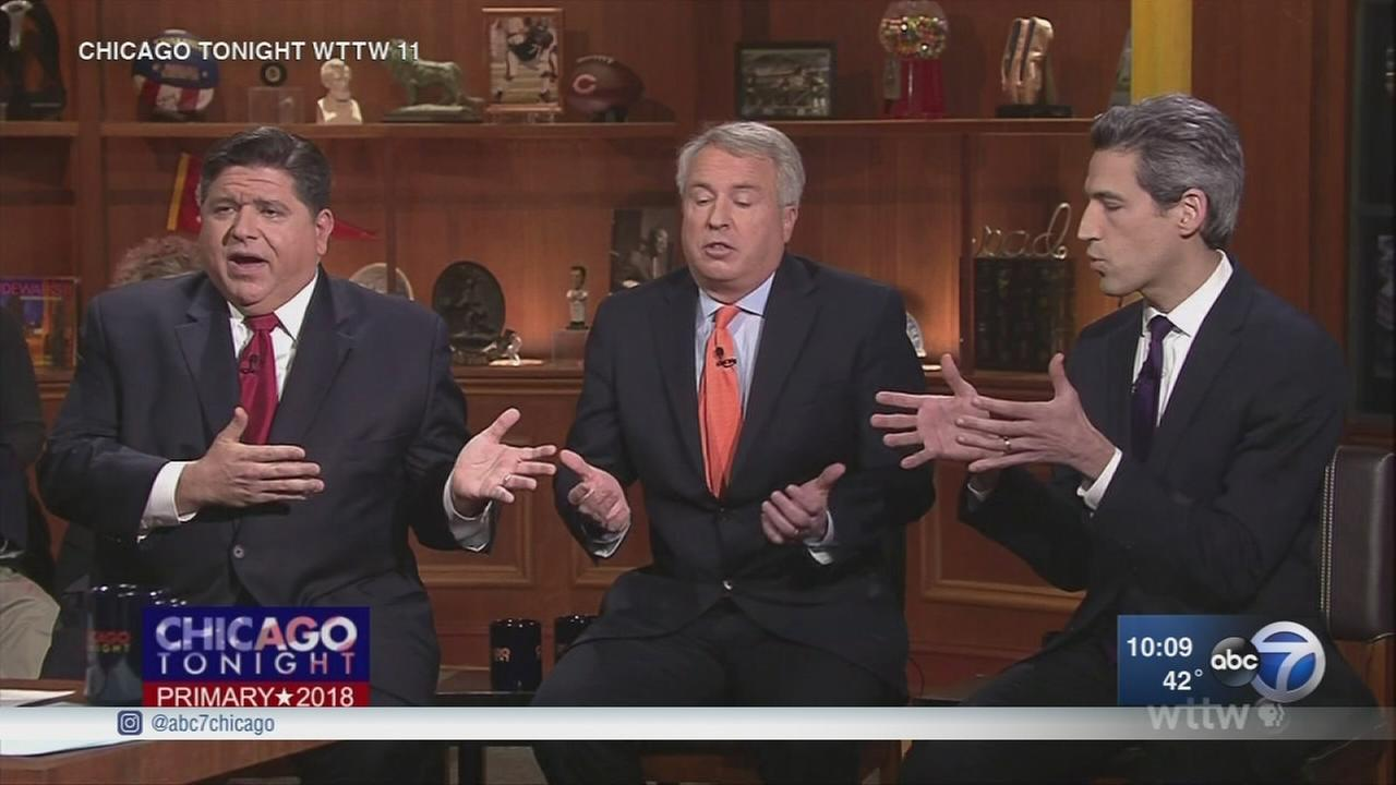 Top 3 Democrat candidates for governor square off in final debate
