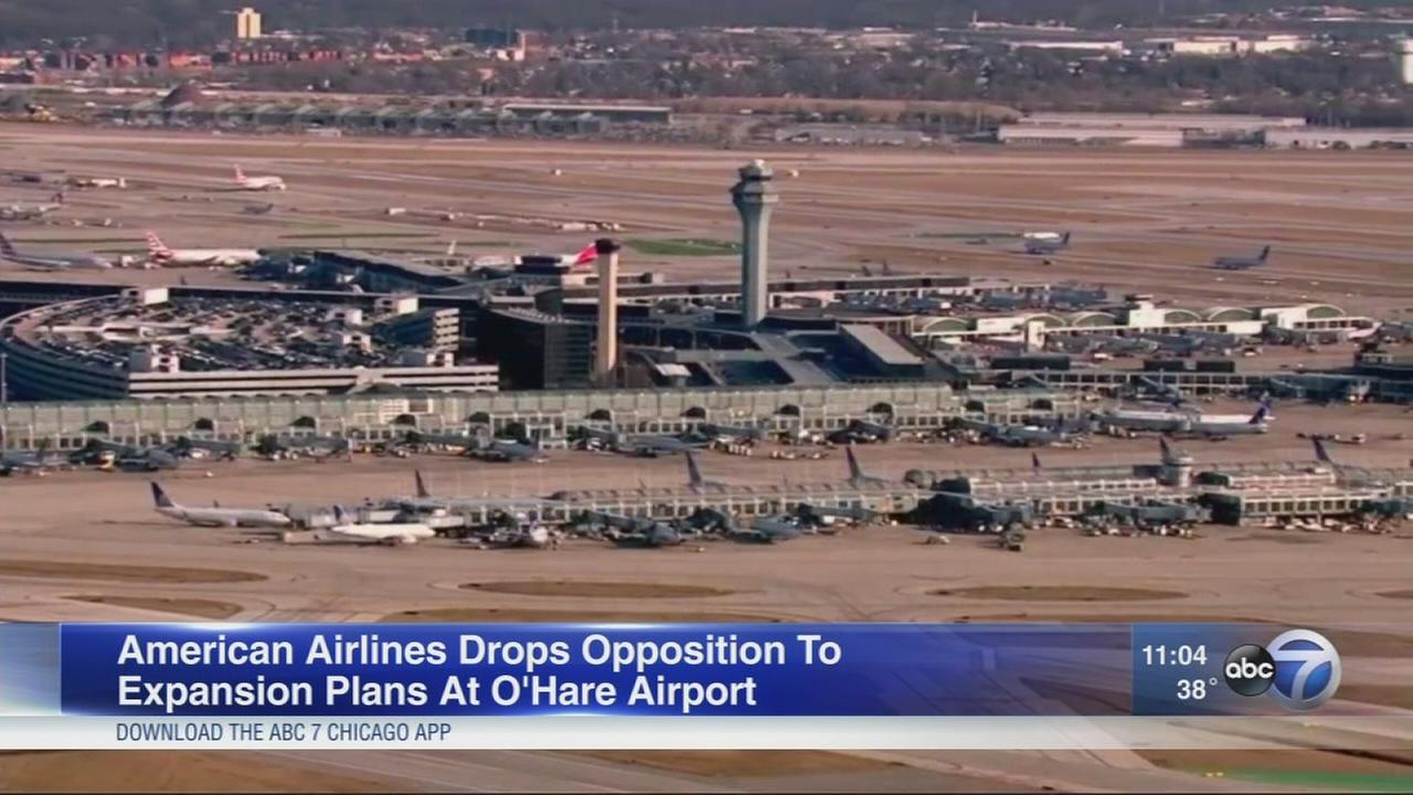 American Airlines agrees to deal in OHare expansion