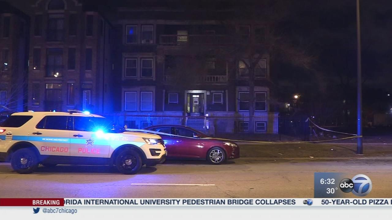 Delivery driver shot in Washington Park