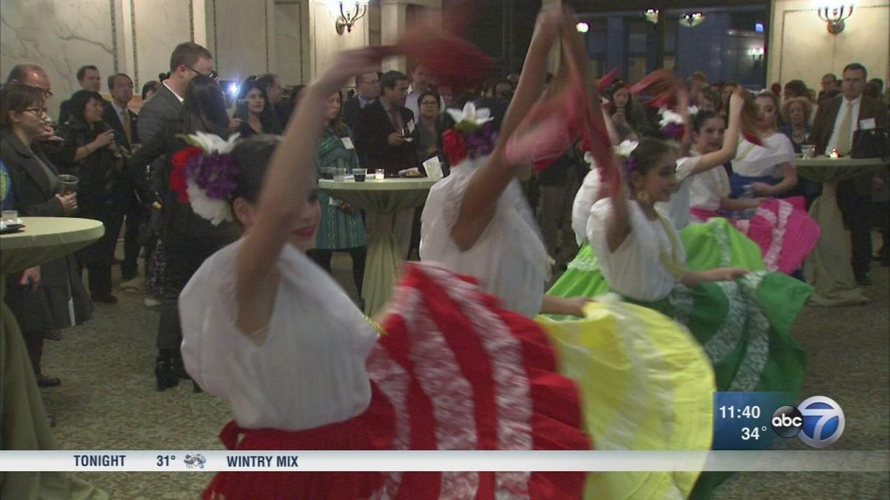 Chicago celebrates sister cities at reception