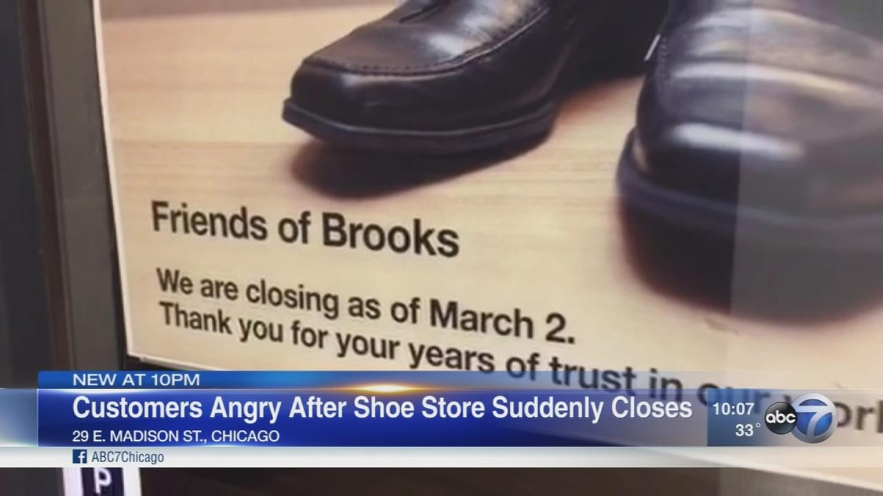 Brooks Shoe Service closes